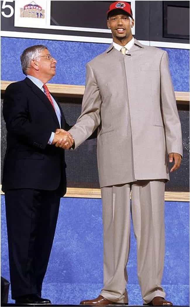 Drew Gooden is listed (or ranked) 2 on the list The All Time Loudest Suits Worn to the NBA Draft