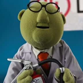 Bunsen Honeydew is listed (or ranked) 8 on the list The All-Time Greatest Fictional Mad Scientists
