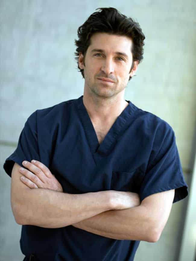 Dr. Derek Shepherd is listed (or ranked) 2 on the list The TV Show Dads You'd Most Want To Bang