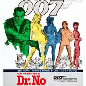 Dr. No is listed (or ranked) 14 on the list The Best Spy Movies