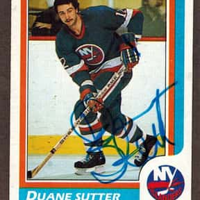 Duane Sutter is listed (or ranked) 24 on the list Famous People Named Dwayne or Duane