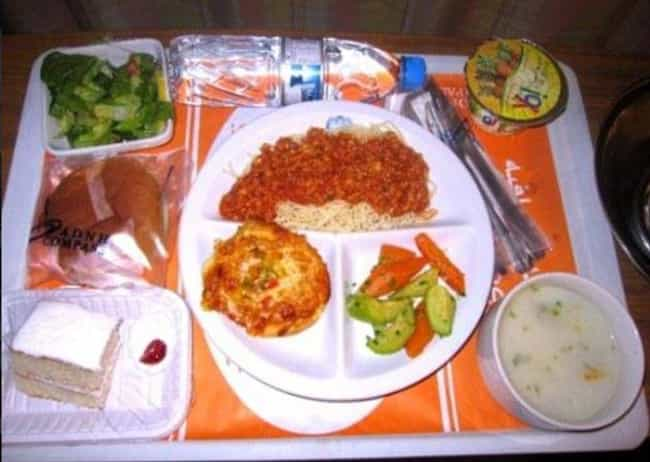 Dubai is listed (or ranked) 3 on the list Here's What Hospital Food Looks Like Around the World