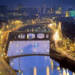 Dublin - 53°20'N is listed (or ranked) 9 on the list All Global Cities, Listed North to South