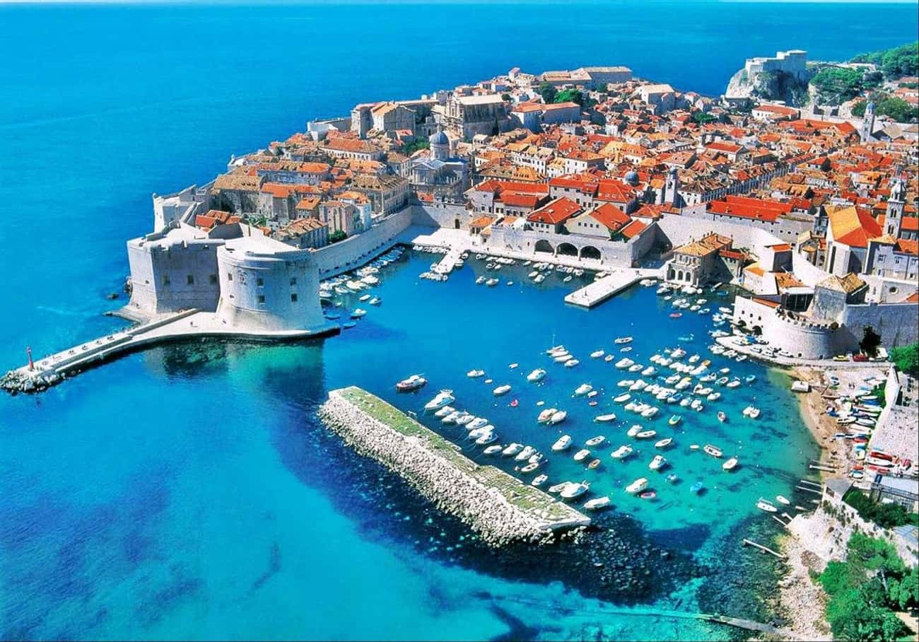 Dubrovnik, Croatia is listed (or ranked) 4 on the list The Most Beautiful Cities in the World