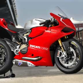 Ducati is listed (or ranked) 3 on the list The Best Motorcycle Brands