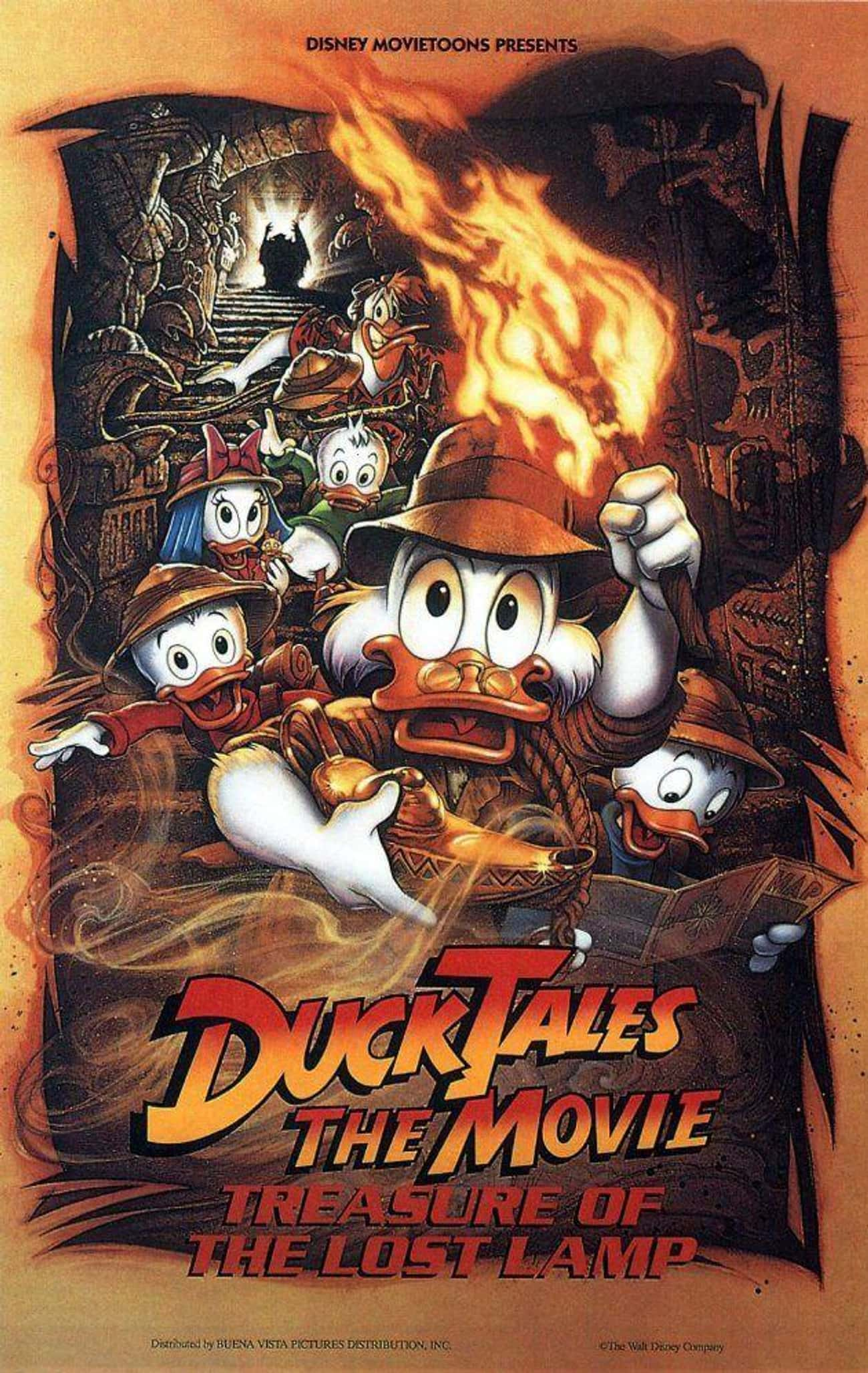 DuckTales The Movie: Treasure  is listed (or ranked) 4 on the list 19 Forgotten Movies You Probably Didn't Realize Are On Disney+