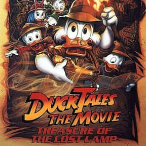 DuckTales the Movie: Treasure  is listed (or ranked) 23 on the list The Best Disney Movies Starring Animals