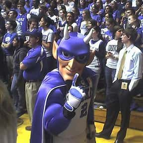Duke Blue Devils men's basketb is listed (or ranked) 3 on the list Basketball Teams with the Most Annoying Fans