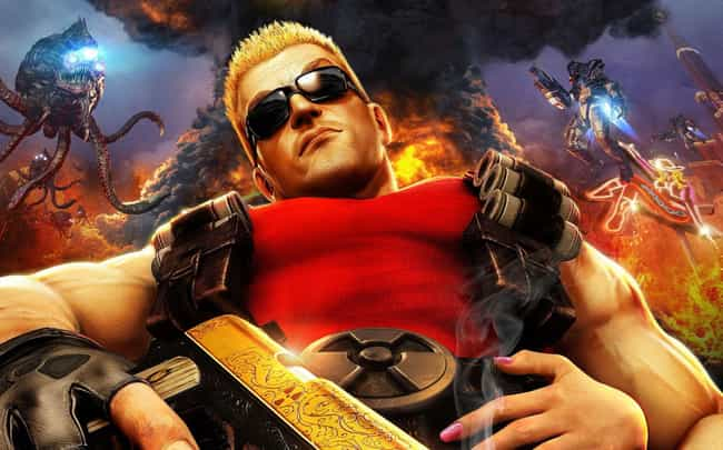 Duke Nukem Forever is listed (or ranked) 3 on the list 13 Video Games That Might Just Be A Little Sexist