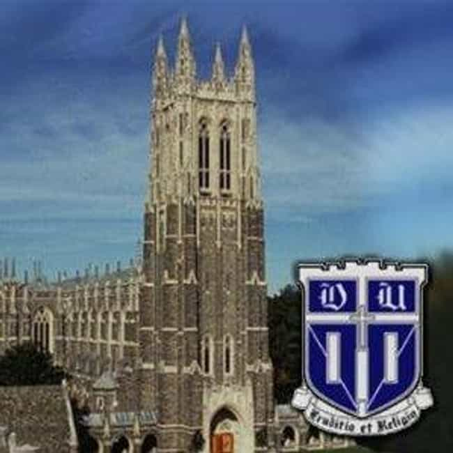 Duke University is listed (or ranked) 3 on the list Southern Colleges Ranked: Ivies and Little Ivies
