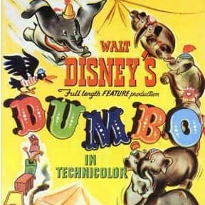 Dumbo is listed (or ranked) 13 on the list The Greatest Animal Movies Ever Made