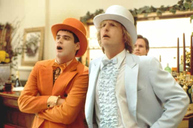 Dumb and Dumber is listed (or ranked) 2 on the list Stupid Comedies That Are Secretly Brilliant