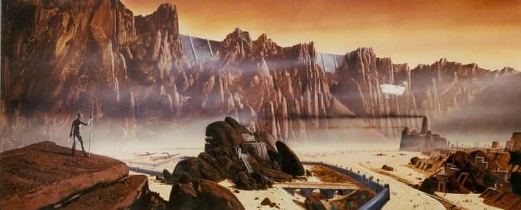 Arrakis Concept for David Lynch's Dune