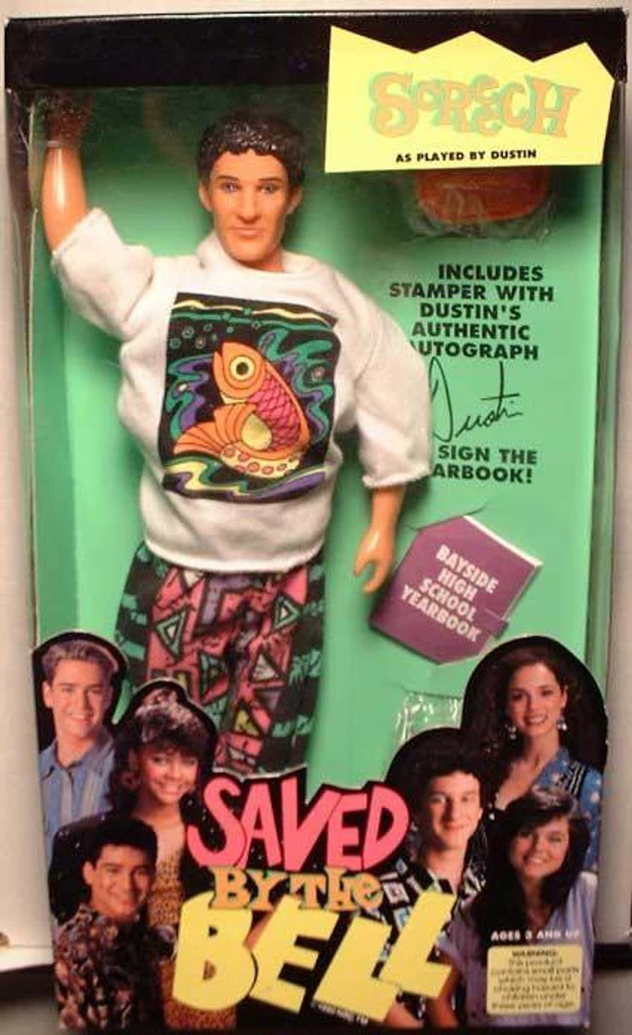 Dustin Diamond is listed (or ranked) 4 on the list Creepy Celebrity Dolls That Will Give You Nightmares