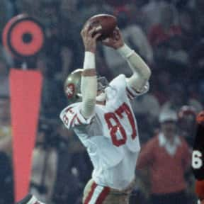 Dwight Clark is listed (or ranked) 25 on the list The Best Wide Receivers of All Time