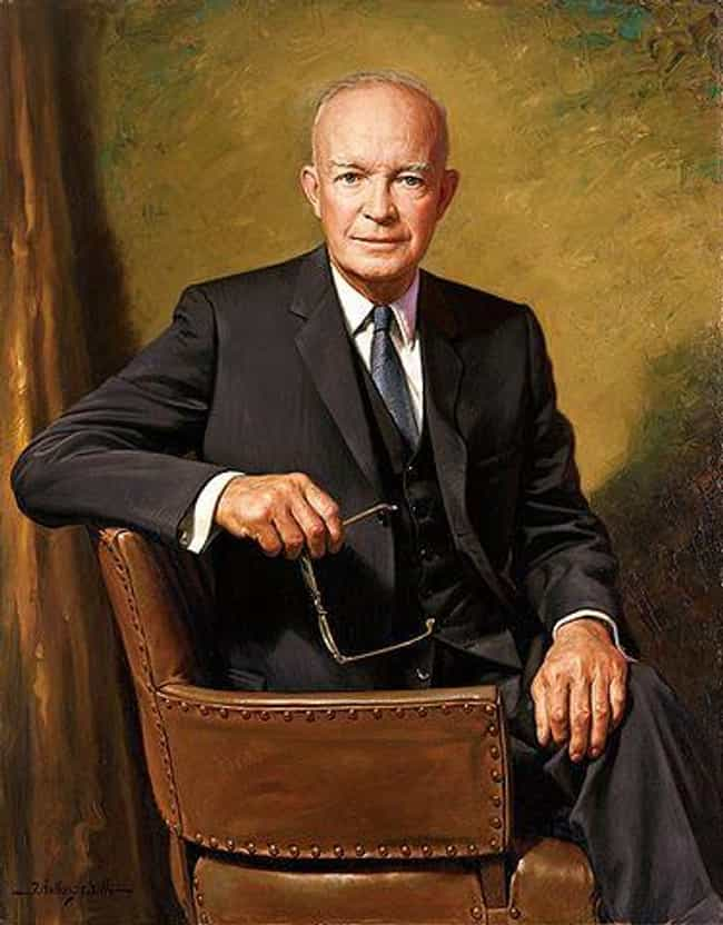 Dwight D. Eisenhower is listed (or ranked) 4 on the list 26 Family Values Politicians Caught Having Affairs