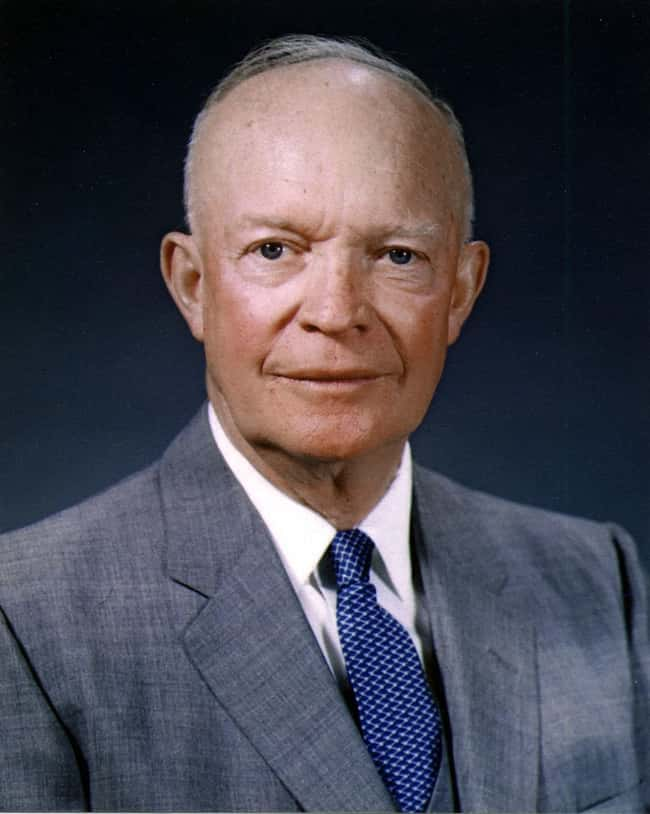 Dwight D. Eisenhower is listed (or ranked) 33 on the list Every U.S. President & Every Medical Problem They've Ever Had