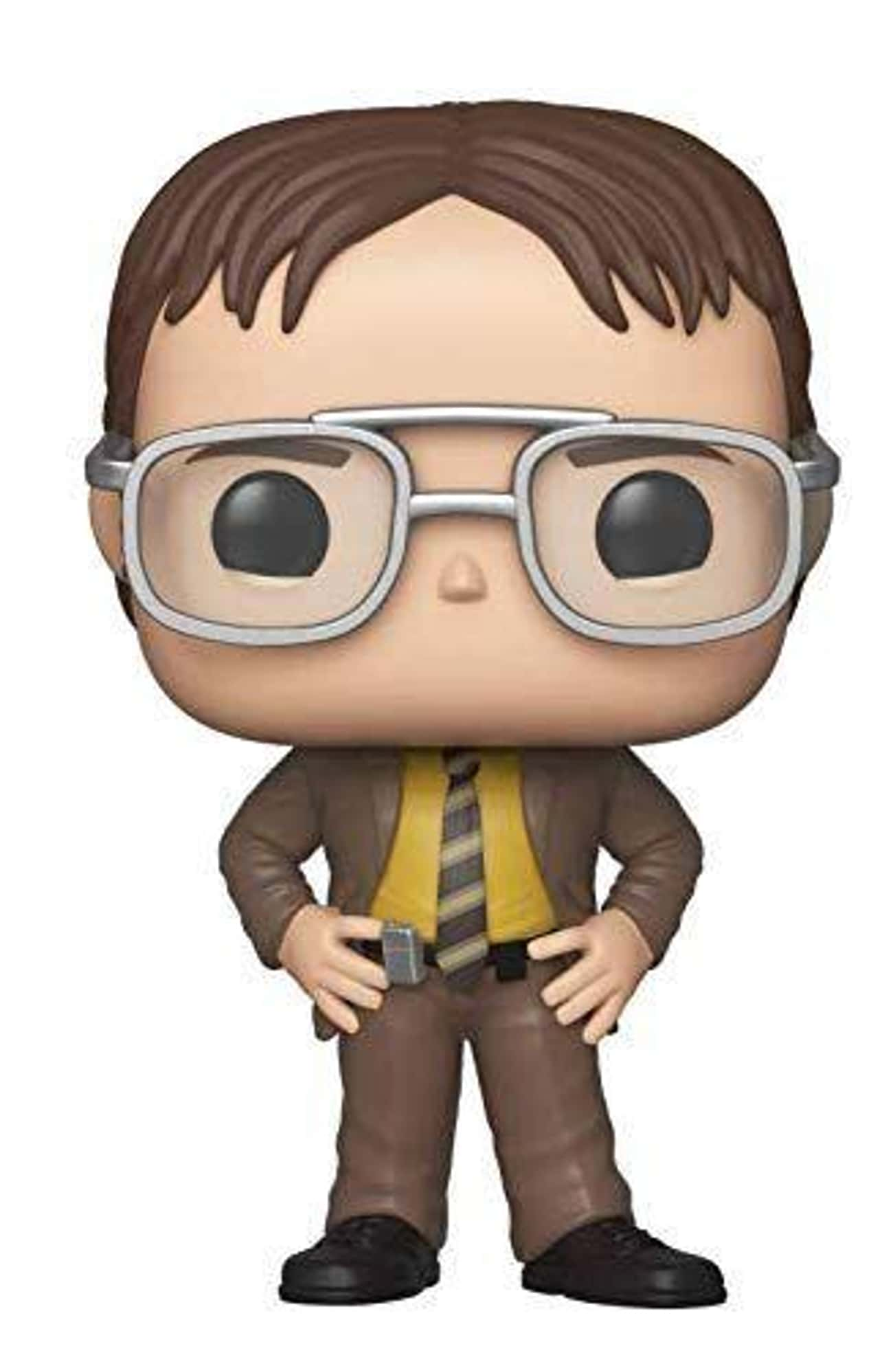 Dwight Schrute is listed (or ranked) 4 on the list Funko Pops That Actually Look Like The Characters