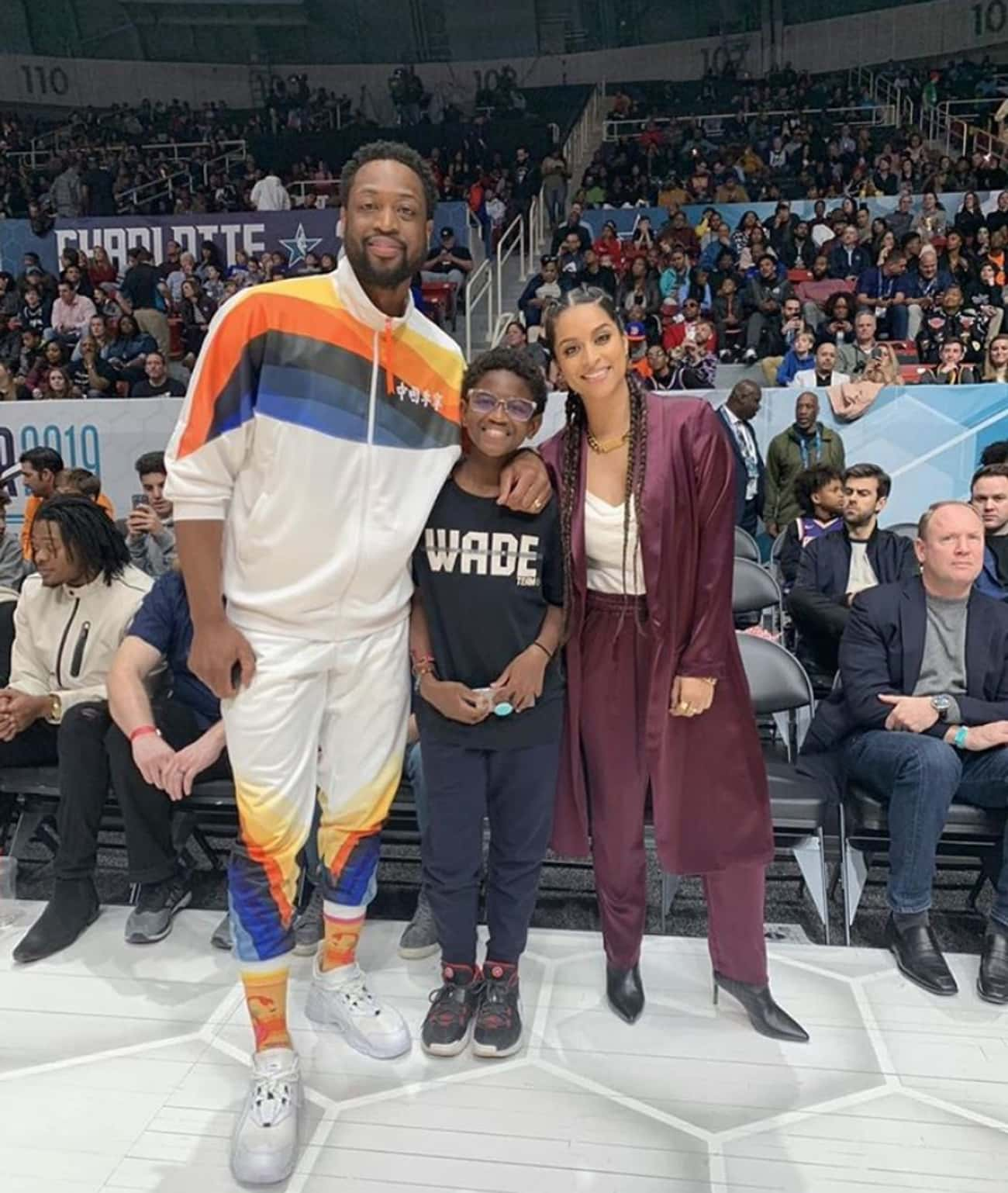 Dwyane Wade is listed (or ranked) 1 on the list Celebrities With LGBTQ+ Children