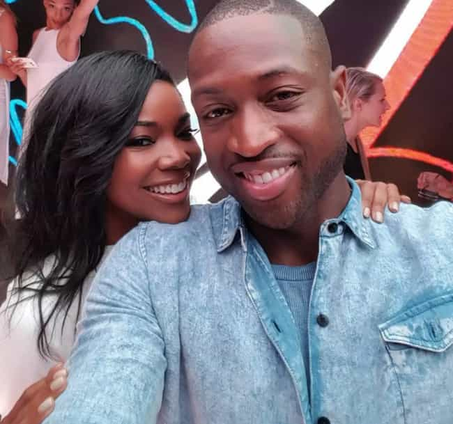 Dwyane Wade is listed (or ranked) 5 on the list Famous Men Who Married Older Women