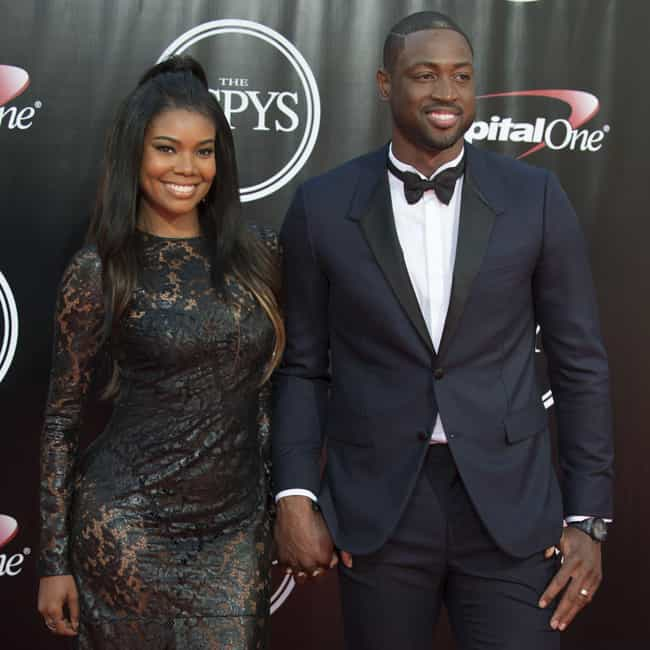 Dwyane Wade is listed (or ranked) 1 on the list Gabrielle Union Loves and Hookups