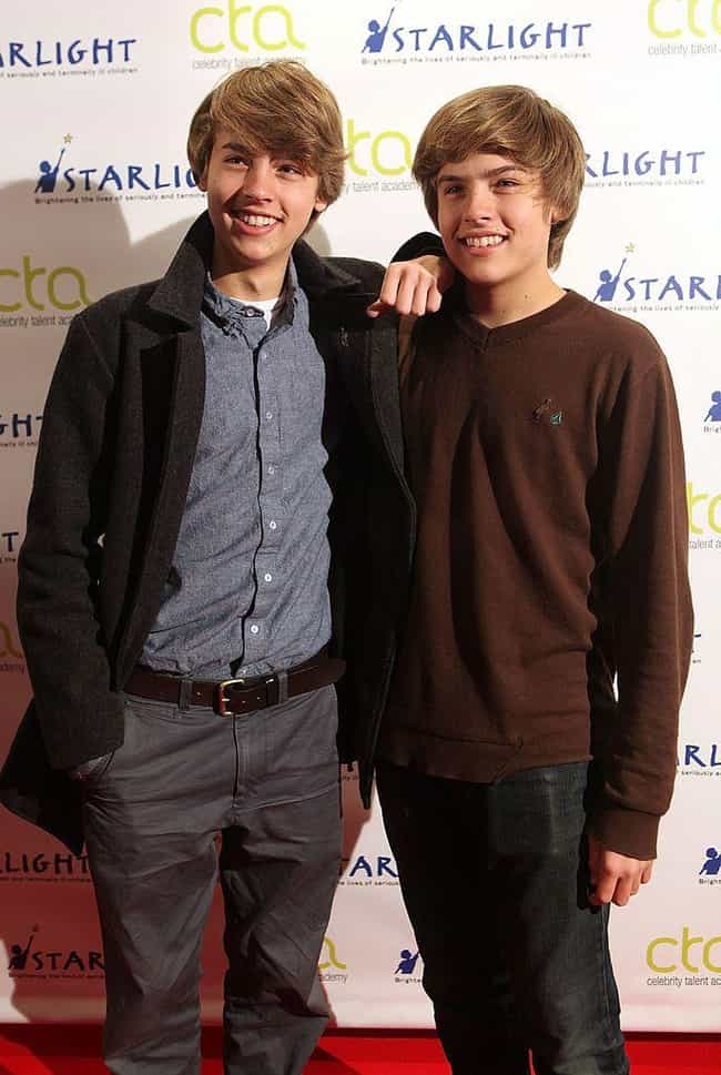 Dylan and Cole Sprouse is listed (or ranked) 4 on the list The Hottest Male Celebrity Twins