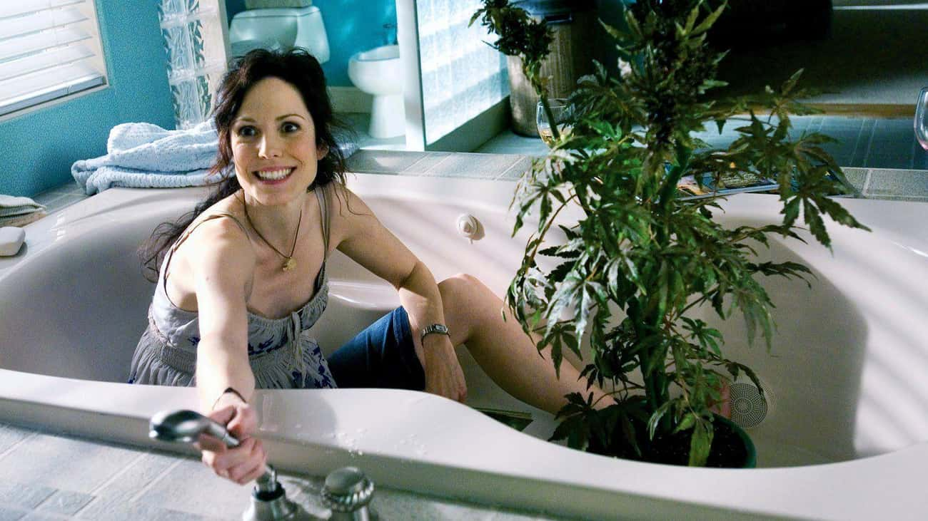 Nancy Botwin In 'Weeds' is listed (or ranked) 4 on the list TV Parents Who Should Probably Have Their Children Taken Away
