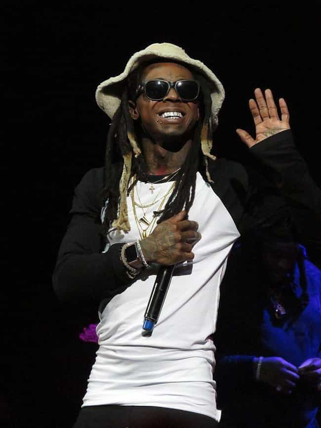 Lil Wayne is listed (or ranked) 4 on the list Rappers Who Have Blonde Hair