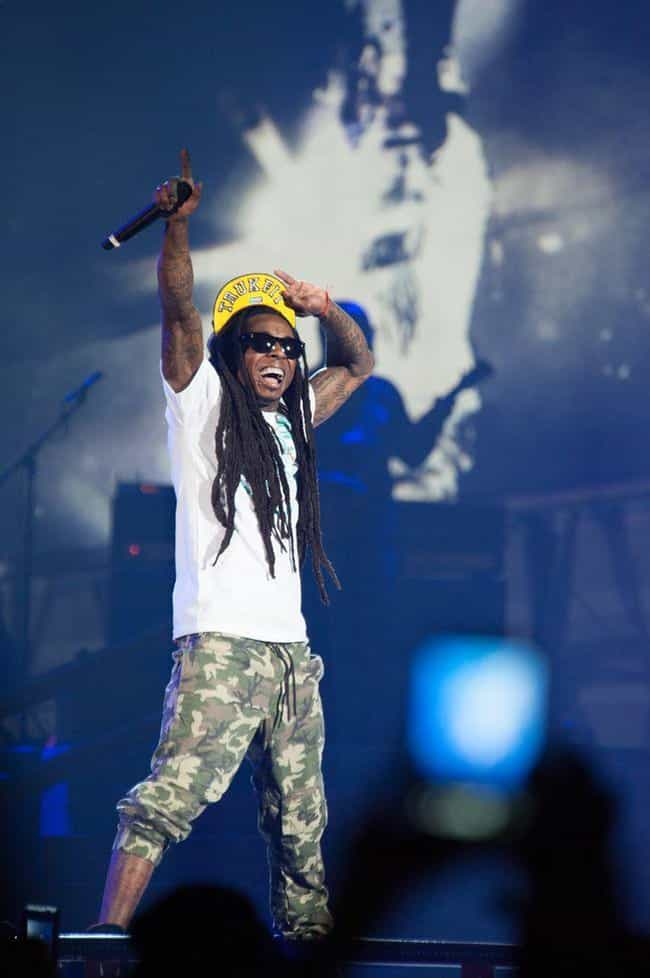 Lil Wayne is listed (or ranked) 1 on the list Celebrity Men Who Are Even Shorter Than You Already Thought