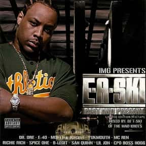 E-A-Ski is listed (or ranked) 11 on the list The Best Hyphy Artists