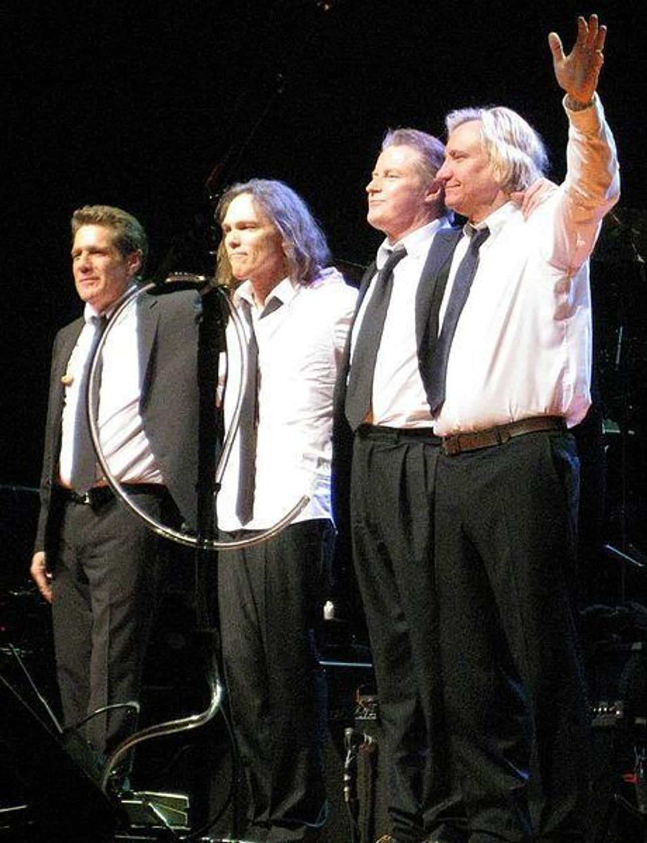 Eagles is listed (or ranked) 3 on the list The Richest Musicians in the World