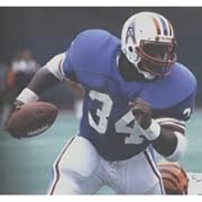 Earl Campbell is listed (or ranked) 1 on the list The Greatest Houston Oilers of All Time