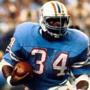 Earl Campbell is listed (or ranked) 11 on the list The Best NFL Running Backs of All Time