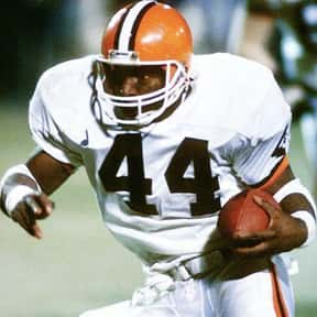 Earnest Byner is listed (or ranked) 7 on the list The Best Washington Redskins Running Backs of All Time