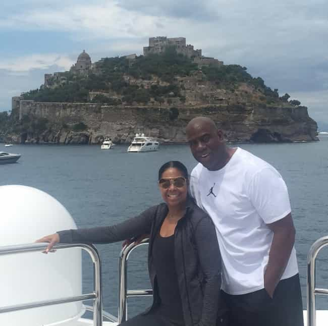 Magic Johnson is listed (or ranked) 8 on the list The Wealthiest African American Celebrities