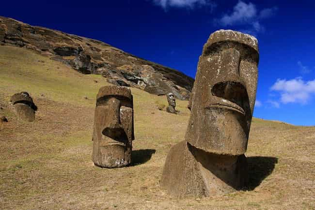 Easter Island is listed (or ranked) 3 on the list Spooky Mass Disappearances That Have Never Been Solved