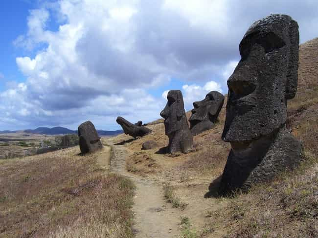 Easter Island is listed (or ranked) 4 on the list The Strangest Places On Earth