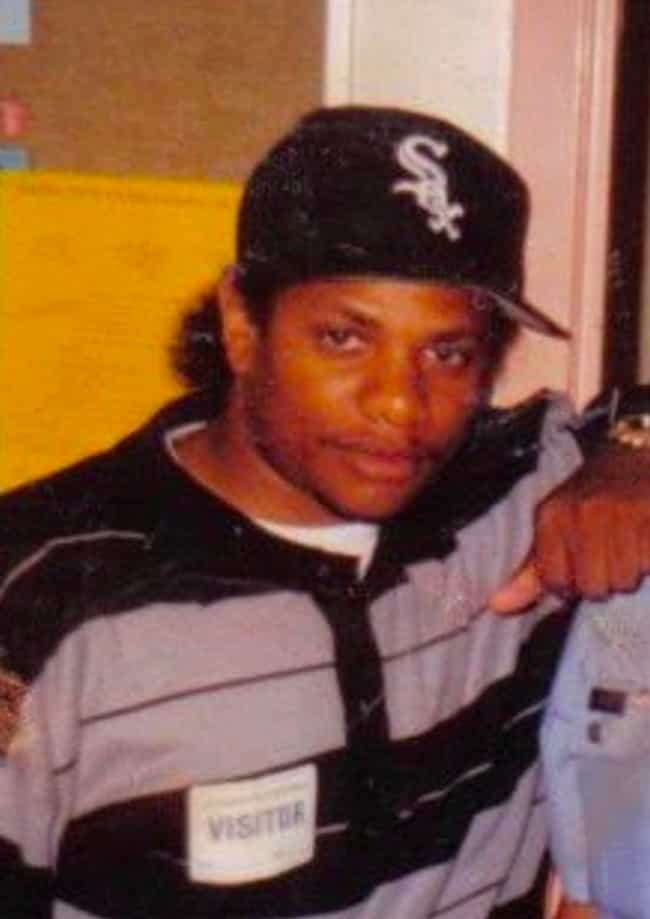 Eazy-E is listed (or ranked) 2 on the list Rappers with Rumored Links to the Crips