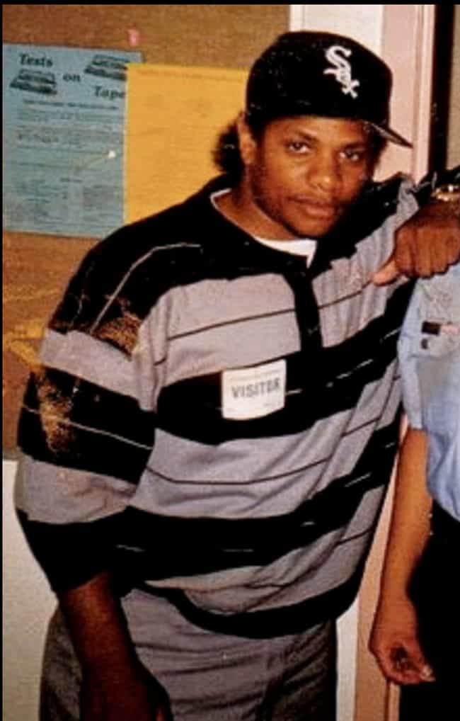 Eazy-E is listed (or ranked) 1 on the list Rappers with Jheri Curls