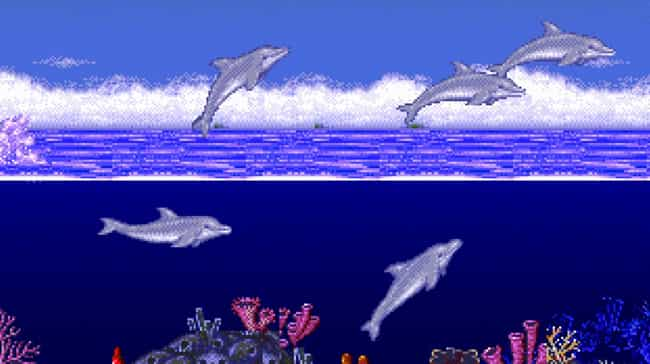 Ecco the Dolphin is listed (or ranked) 2 on the list Bad Video Games You Played as a Kid Because You Didn't Know Any Better