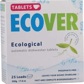 Ecover is listed (or ranked) 17 on the list The Best Detergent Brands