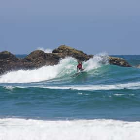 Ecuador is listed (or ranked) 23 on the list The Best Countries for Surfing
