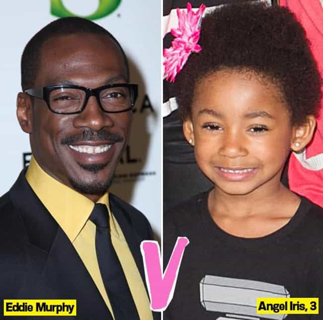 Eddie Murphy is listed (or ranked) 2 on the list 30 Famous People Who Have Love Children