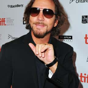 Eddie Vedder is listed (or ranked) 24 on the list The Best Frontmen in Rock