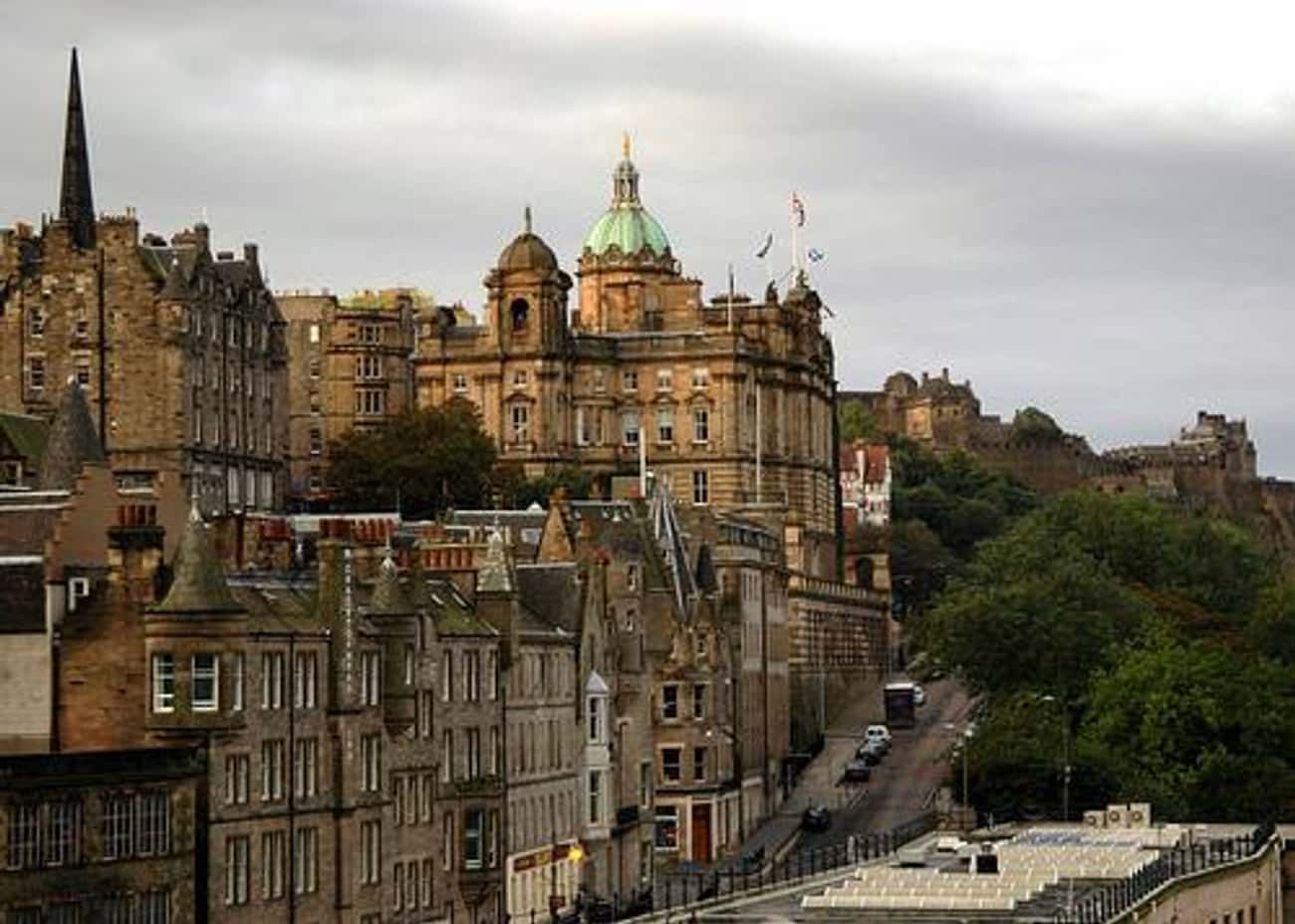 Edinburgh is listed (or ranked) 4 on the list The Top Travel Destinations in the World
