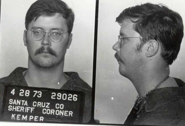 Edmund Kemper is listed (or ranked) 3 on the list 8 Vicious Serial Killers Who Turned Themselves In To Law Enforcement