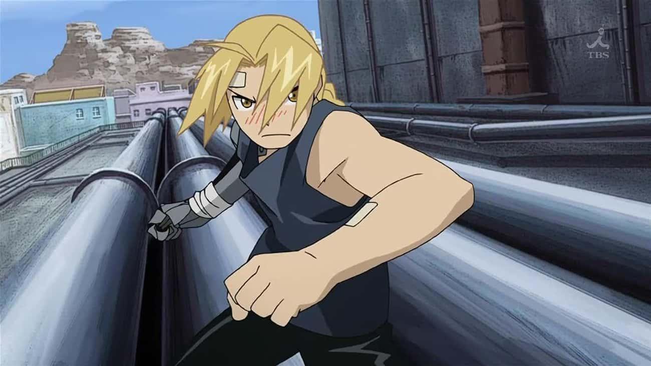 Edward Elric - 'Fullmetal Alchemist'