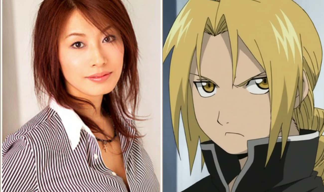Romi Park Is The Voice Of Edward Elric