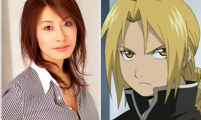Edward Elric is listed (or ranked) 2 on the list 17 Anime Voice Actresses Who Are Nothing Like Their Male Roles