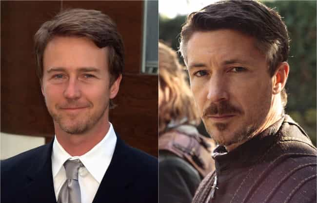 Edward Norton is listed (or ranked) 2 on the list Who Would Star In An Americanized 'Game Of Thrones'?